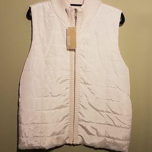 NWT Michael Kors Vest Jacket Size Large